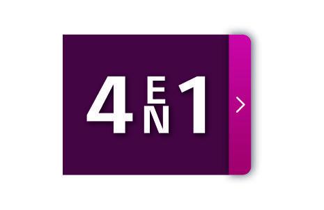 4 en 1