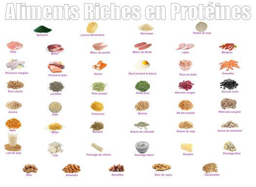 aliment fort en protéine
