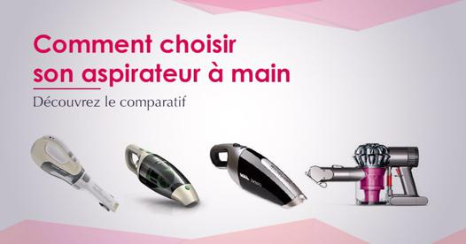 aspirateur a main comparatif