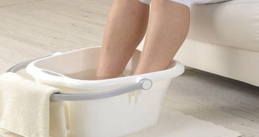 bain de pied froid