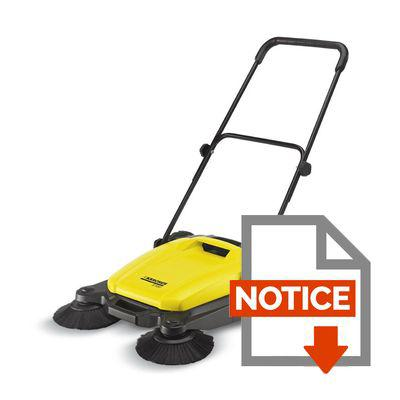 balayeuse karcher s650
