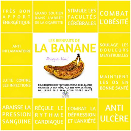 bienfaits banane