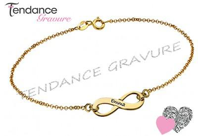 bracelet avec prenom pas cher