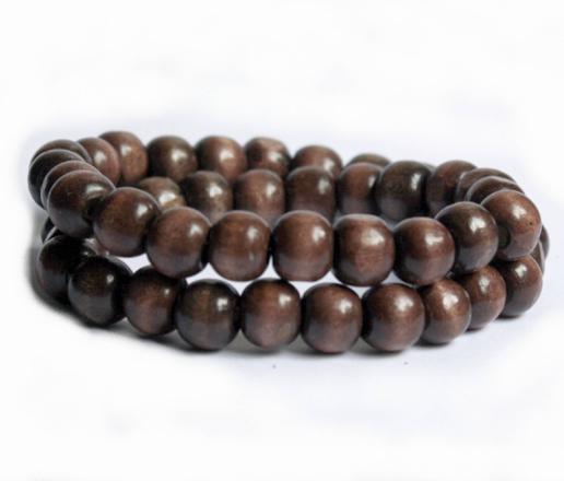 bracelet homme perle bois