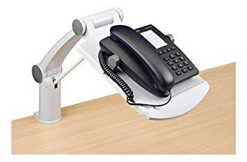 bras support téléphone bureau