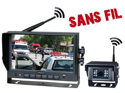 camera de recul sans fil pour camion