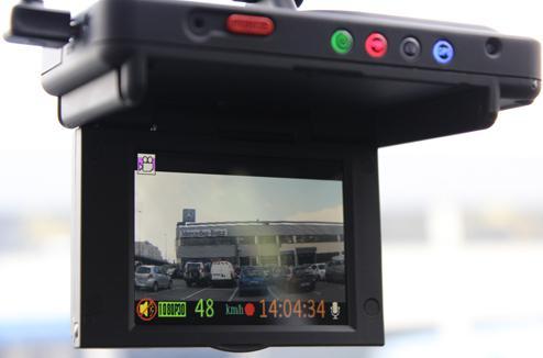 camera embarquée voiture gps