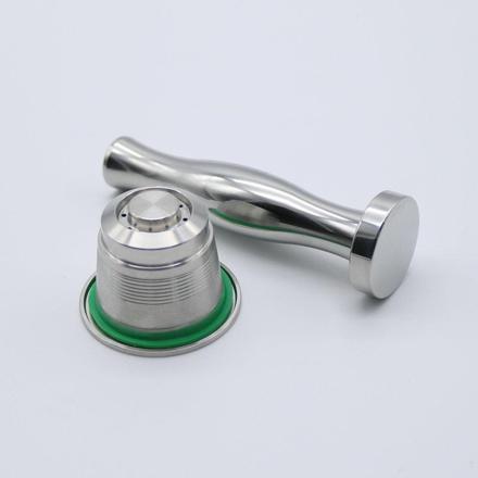 capsule nespresso rechargeable inox