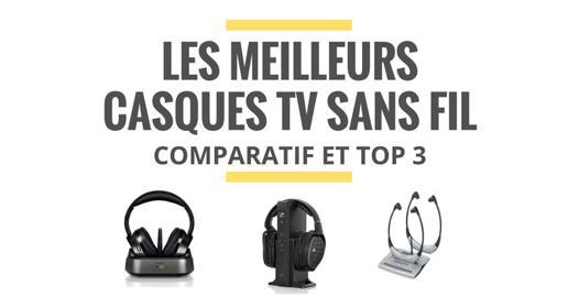 casque audio television sans fil comparatif