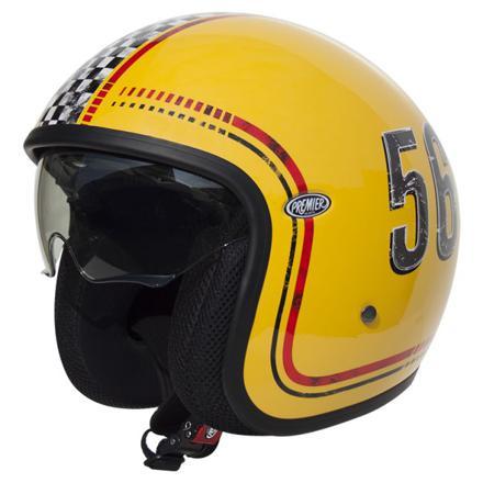 casque moto jet vintage