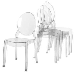 chaise transparente pas cher