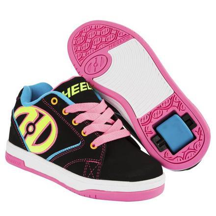chaussures à roulettes heelys