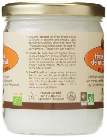 choisir huile de coco