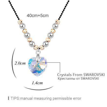 collier femme swarovski
