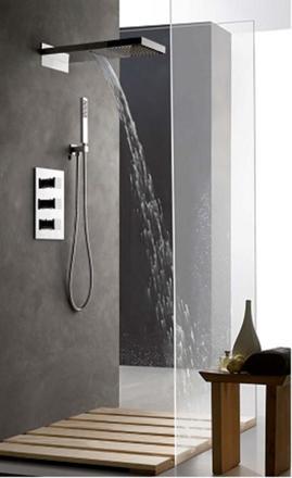 colonne de douche encastrable