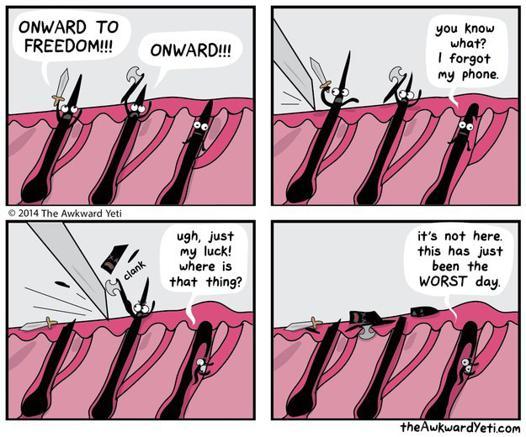 comment enlever un poil incarné