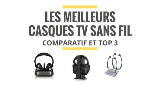 comparatif casque tv sans fil