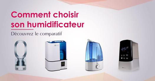 comparatif humidificateur d air