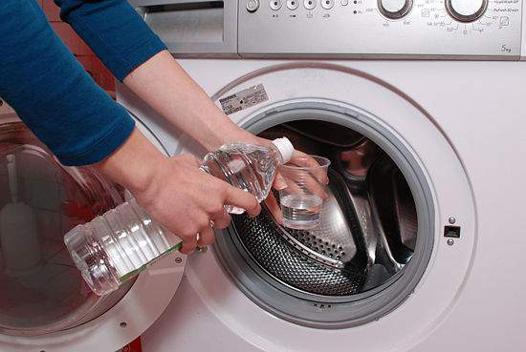 désinfecter machine à laver