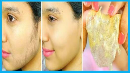 enlever les poils du visage