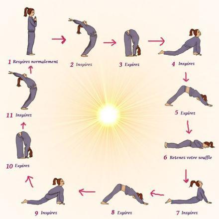 exercices de yoga pour débutant