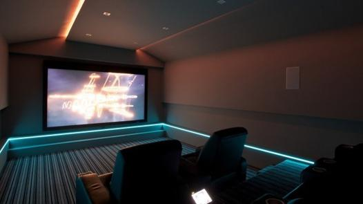 home cinema led