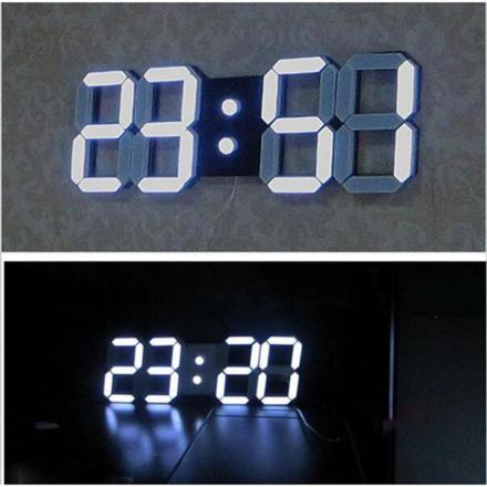 horloge murale led sans fil