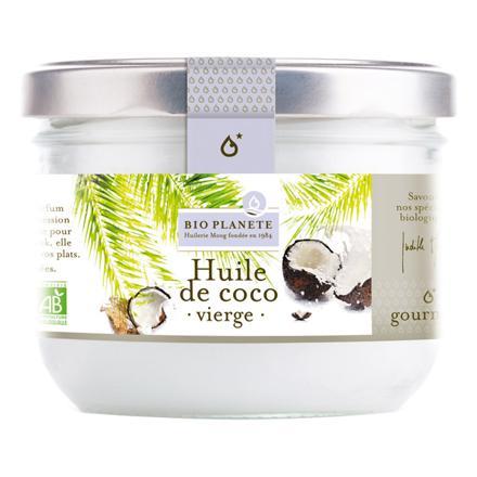 huile de coco bio vierge