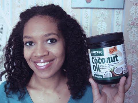 huile de coco cheveux crépus