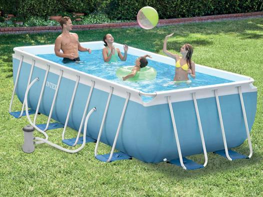 intex piscine rectangulaire