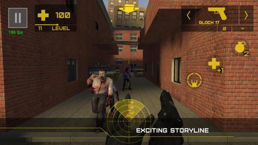jeux de tir de zombie