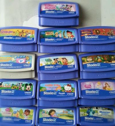 jeux storio baby 2
