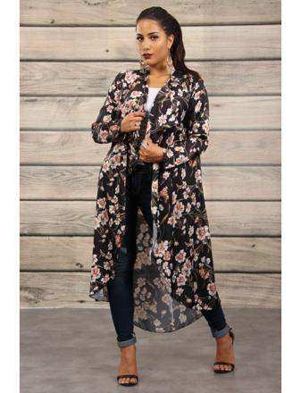 kimono femme long