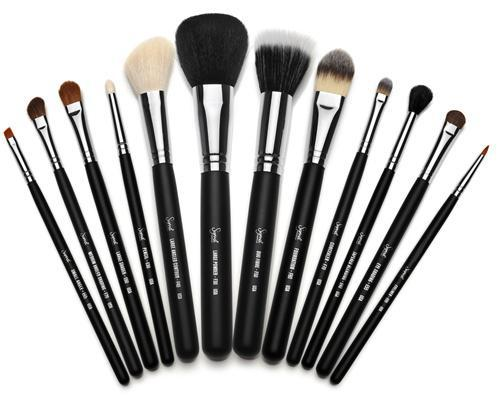 kit pinceaux maquillage professionnel mac