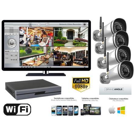 kit vidéosurveillance sans fil exterieur