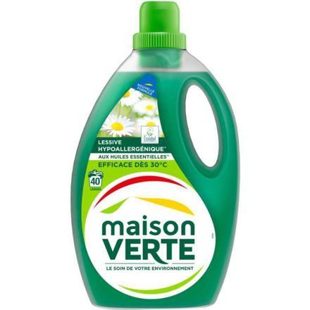 lessive huile essentielle