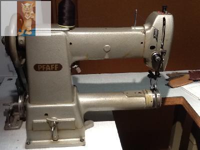 machine a coudre canon cuir