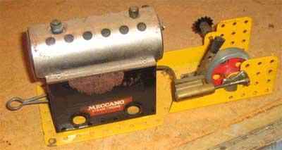 machine a vapeur meccano