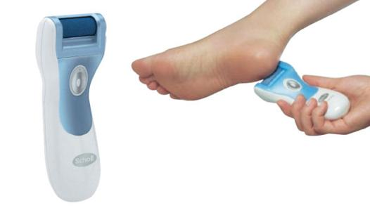machine peau morte pied