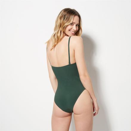 maillot de bain 1 piece vert