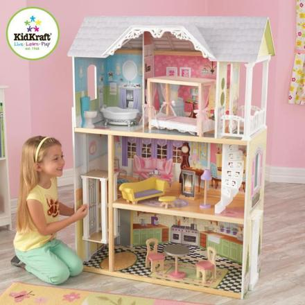 maison de poupéé en bois kidkraft