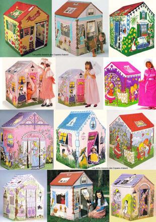 maison en toile pour fille