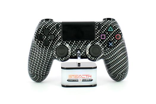 manette ps4 carbone