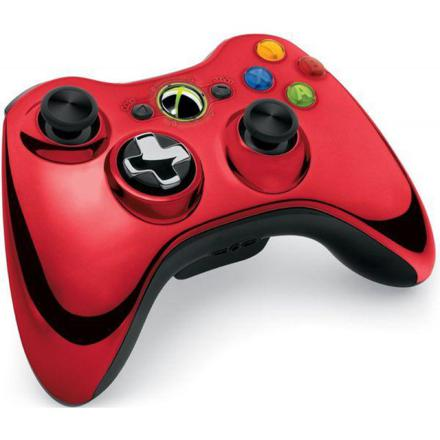 manette xbox 360 rouge