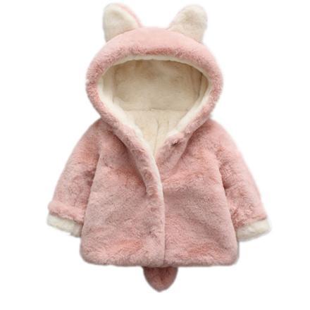manteau fourrure bebe