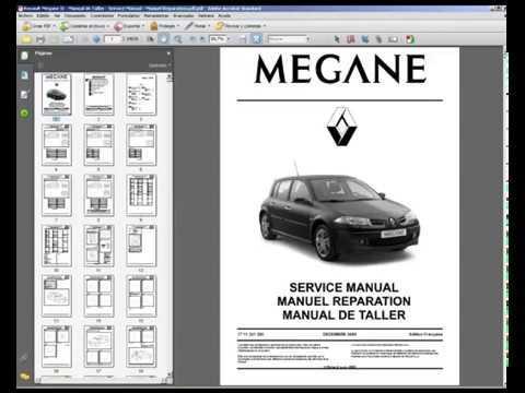 manuel megane 2
