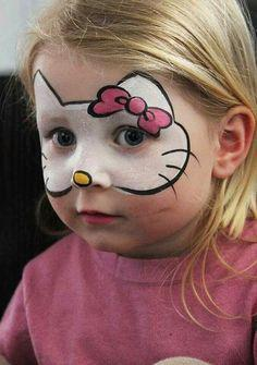 maquillage hello kitty facile