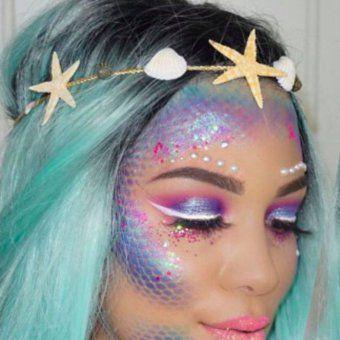 maquillage sirene