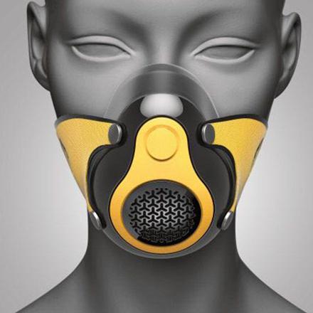 masque anti pollution running