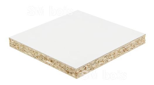 mélaminé blanc 16 mm